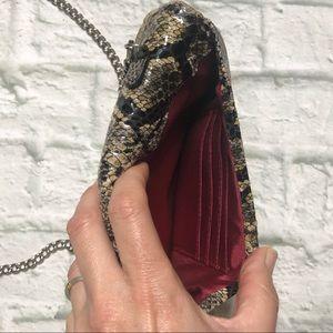 HOBO Bags - Hobo NWOT snake pattern leather crossbody, clutch